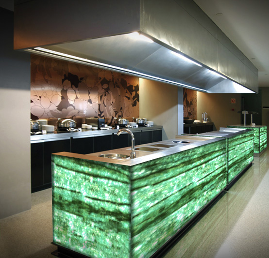 Backlit Countertops Design And Installation